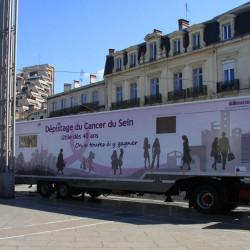 Rénovation du mammobile de l'Association Montpellier-Hérault pour le Dépistage du Cancer du Sein