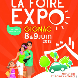 A Fleur de Chaux à la Foire Expo de Gignac les 8 & 9 Juin 2013
