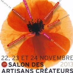 Salon des Artisans Créateurs de Lodève, 22, 23 et 24 Novembre 2013