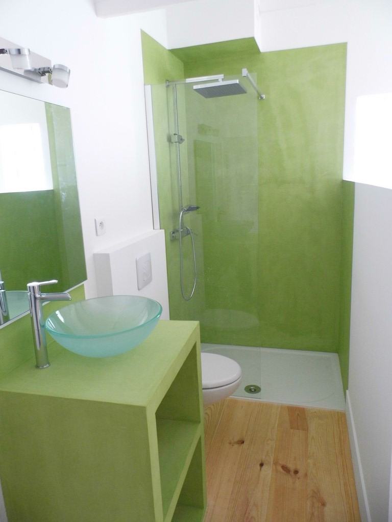 rénovation mezzanine en chambre et salle de bains | a fleur de chaux