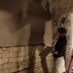 Rénovation d'un appartement à la chaux