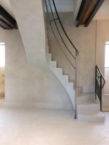 escalier en béton ciré (2) (Copier)